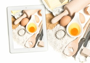 11126207-notebook-tablet-pc-and-baking-ingredients-taking-food-photos